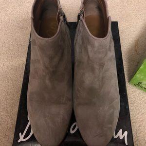 Sam Edelman Shoes - Sam Edelman Petty Chelsea Boot in Putty Suede